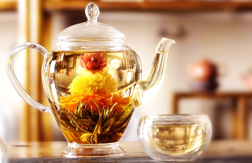 latest trends types of Flowering Tea-how-to-make