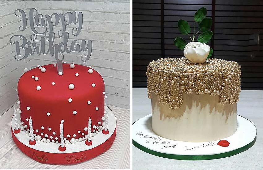 Pearl Cakes Latest Designs Cake Art Trends Images