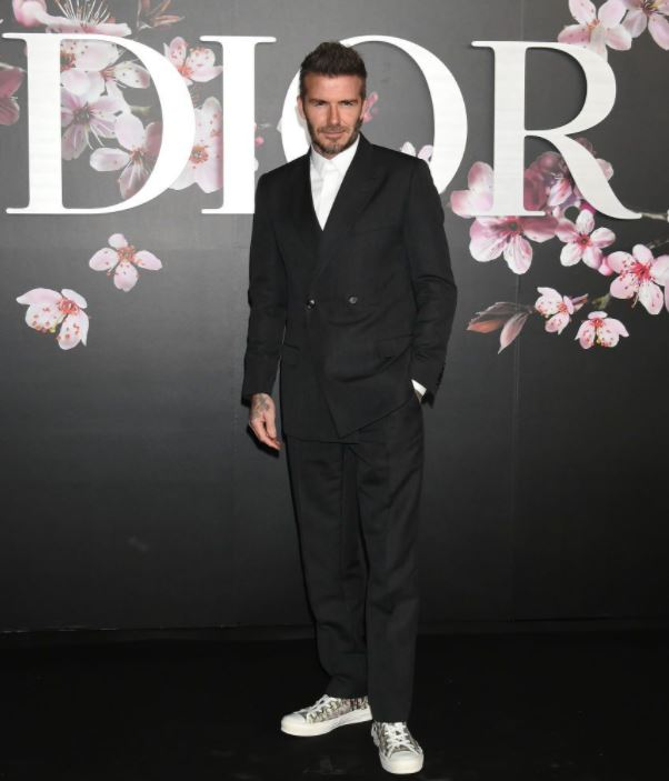 suit with sneakers mens wear