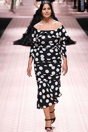 Dolce-Gabbana-spring-summer-2019-ss19-milan-fashion-week-1-polka-dotted-dress