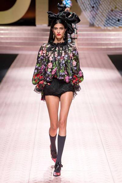 Dolce-Gabbana-spring-summer-2019-ss19-milan-fashion-week-81-bodysuit