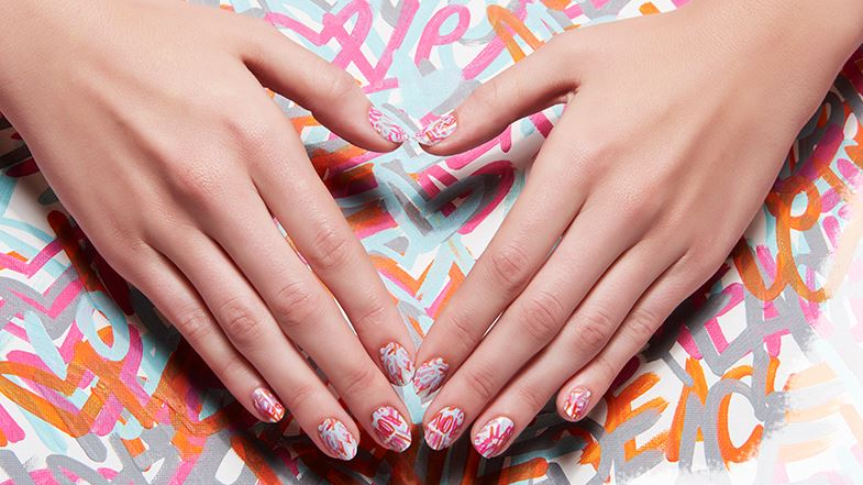 Line Texture On Nails : Nail art trends for fall latest arts and how