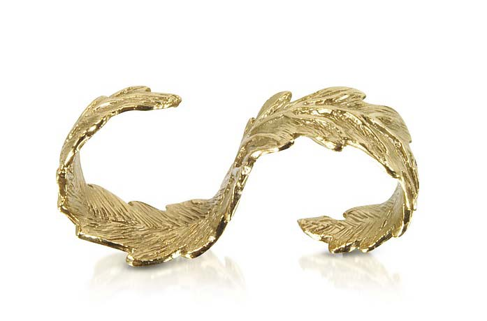 leaf-shaped-two-finger-ring-latest-jewelry-trend