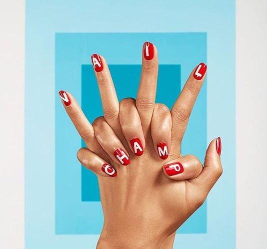 naominailsnyc - nail decals - sally hansen nail art