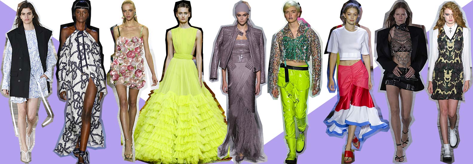 Spring Summer 2019 Top Fashion Looks From Nyfw