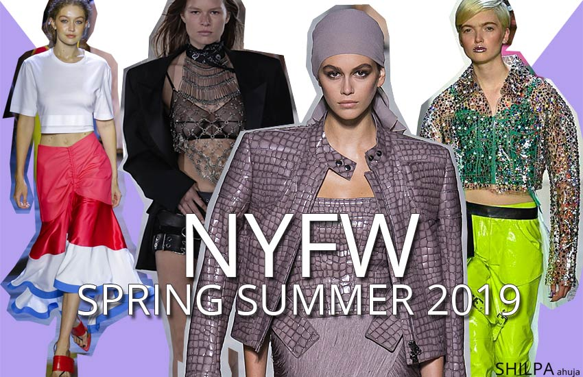 new york fashion week nyfe spring summer 2019 top fashion looks