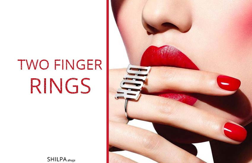 Two Finger Ring two-finger-rings-trend-latest-jewelry-trend