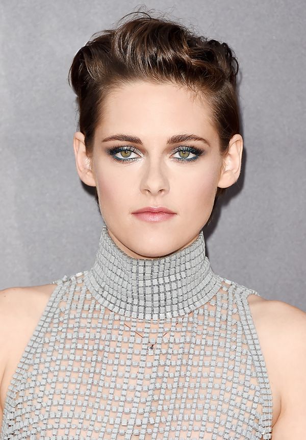 kristen-stewart-metallic-makeup-idea-for-prom