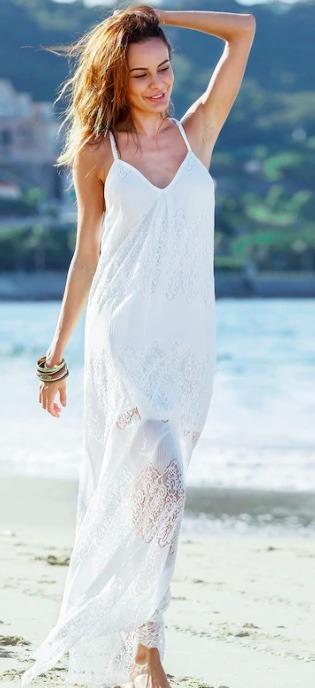 maxi dress retro style dress