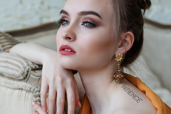 Temporary Tattoo new tattoo designs for 2018 patience self love inspiration text ideas