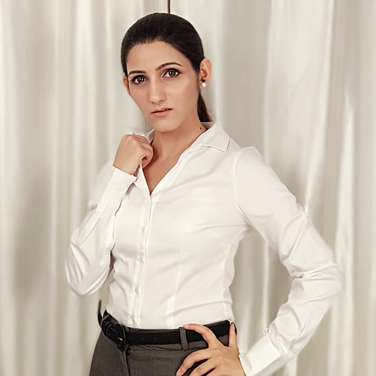 shilpa ahuja work wardrobe essentials crist white shirt formal office clothes