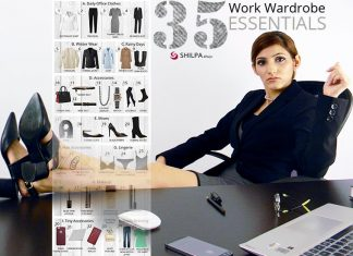 work-wardrobe-essentials-shilpa ahuja business formal dress fashion style