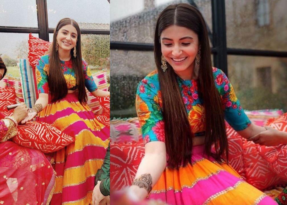 anushka-sharma-bollywood-mehendi-outfit