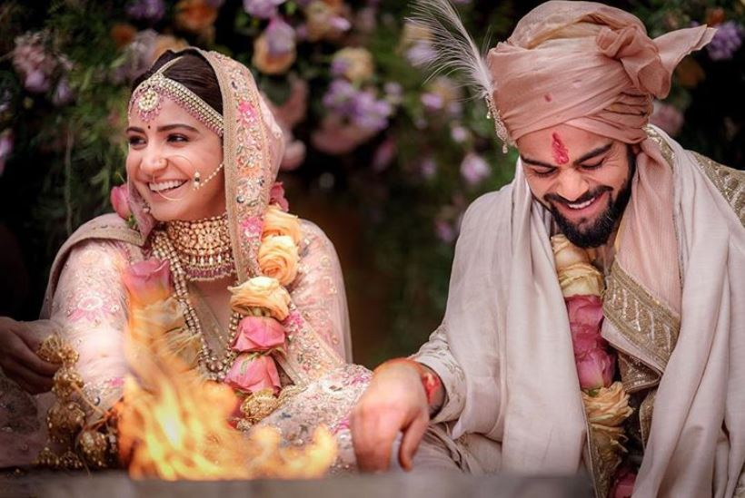 anushka sharma bollywood virat kohli wedding jewelry