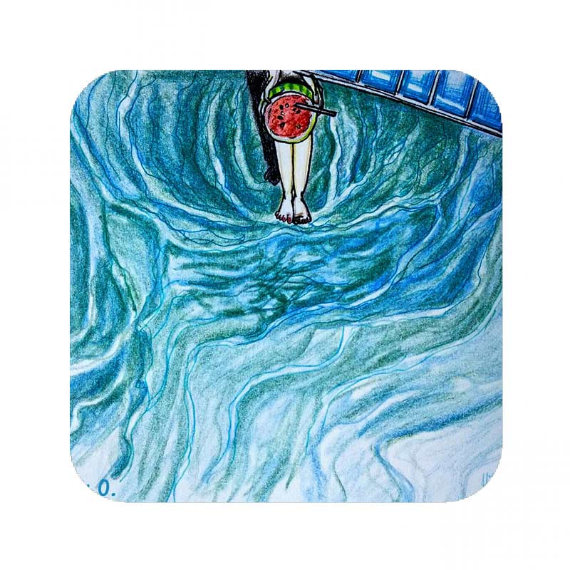 audrey o comic cartoon merchandise shilpa ahuja slubshop coaster1 (1)