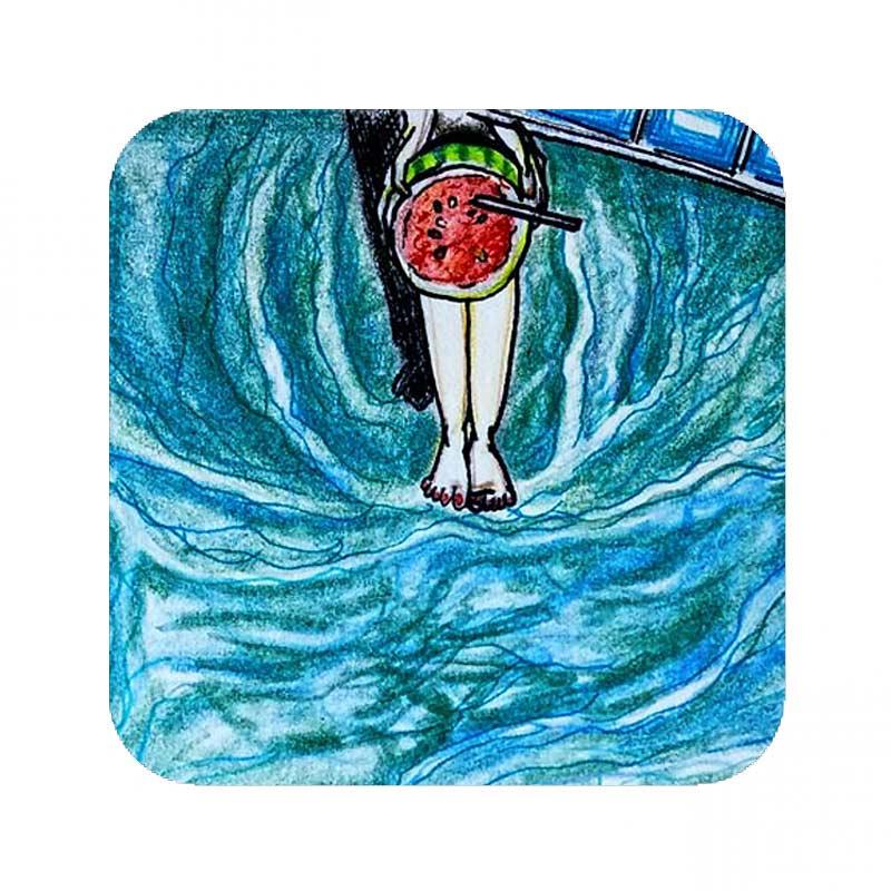 audrey o comic cartoon merchandise shilpa ahuja slubshop coaster1 (2)