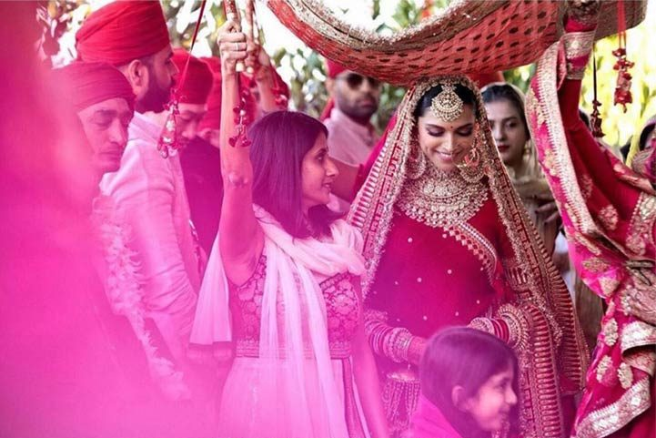 Indian Bridal Fashion deepika-padukone-bollywood-wedding-lehenga-look