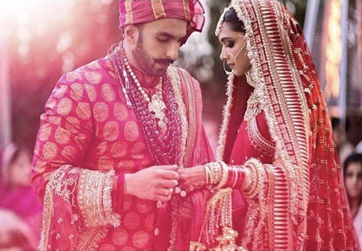 deepika padukone bollywood wedding ranveer singh sherwani