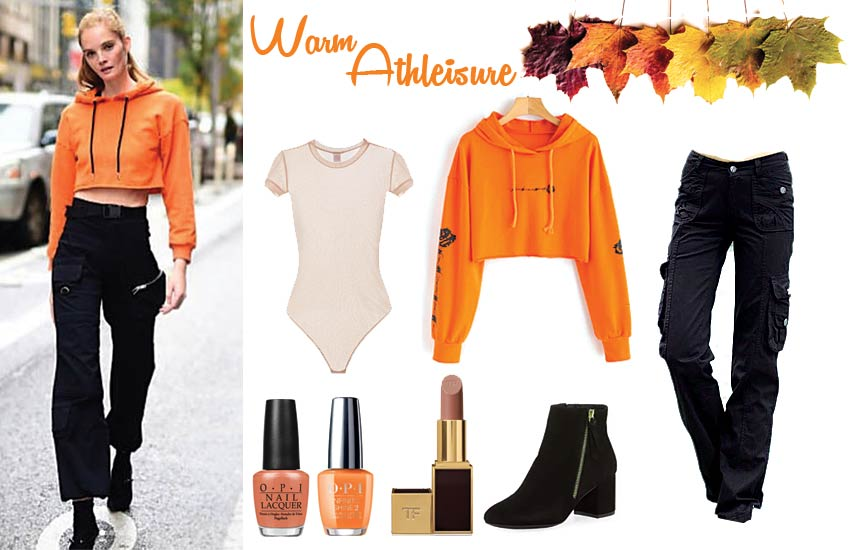 ideas celeb athleisure orange cute fall outfits for school alexina graham