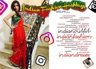 indian-fashion-hashtags Top Trending Hashtags in India