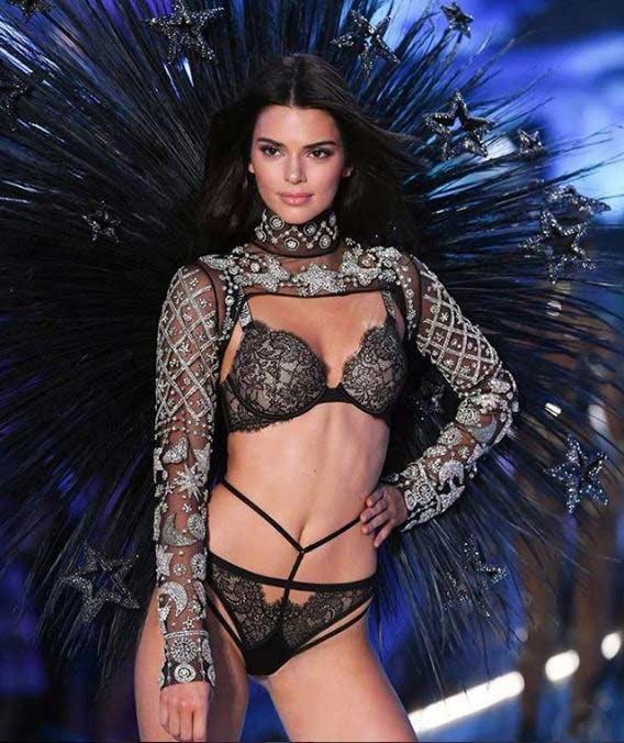 victoria secret runway show model 2018 kendall-jenner-21