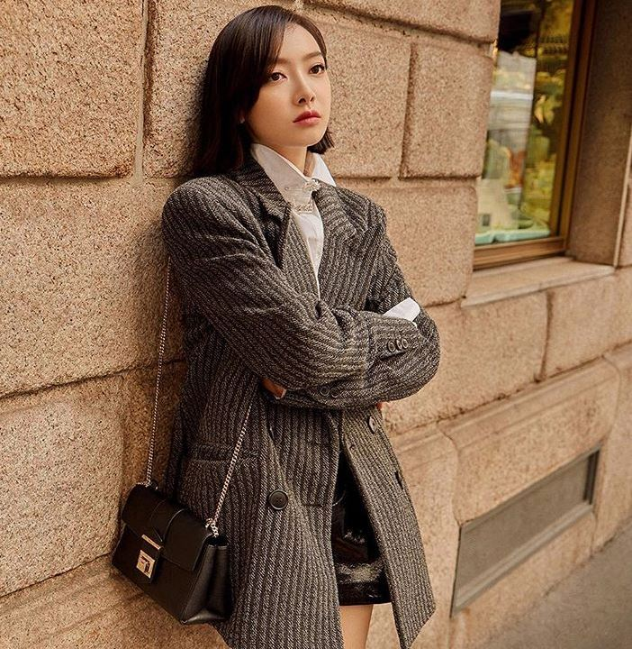 casual winter dresses style tips Victoria Song jimmychoo