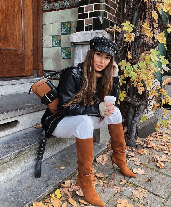 fashion influencers instagram outfit ideas for winter Negin Mirsalehi