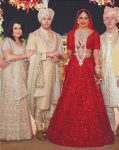 nickyanka wedding pics dresses bollywood actress lehenga