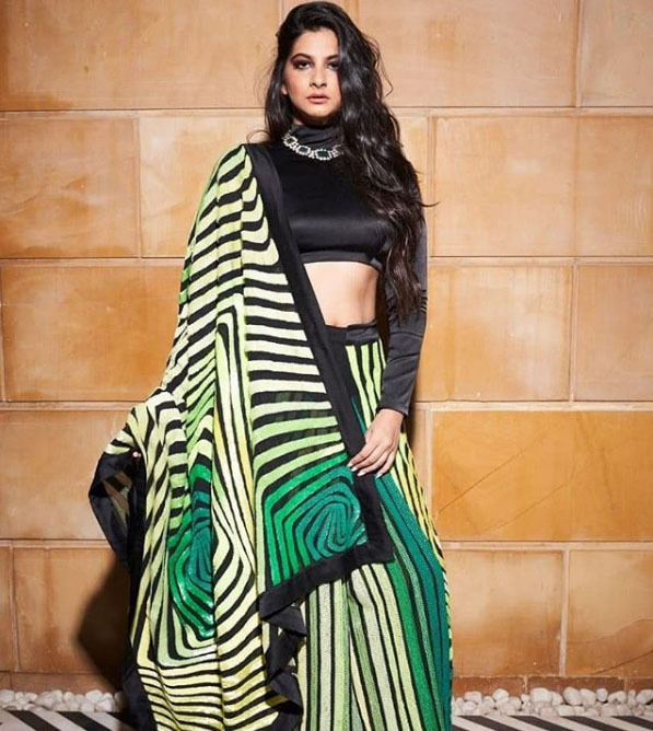 Abu Jani Latest Saree Trends 2019 Large Modern Prints