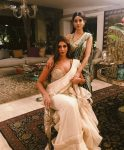 Abu Jani Latest Saree Trends 2019 Light Colors Shweta Bachchan