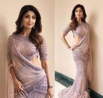 Falguni Shane Peacock Latest Saree Trends 2019 Light Colors