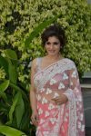Manish Malhotra Latest Saree Trends 2019 Light Pastels Raveena Tandon