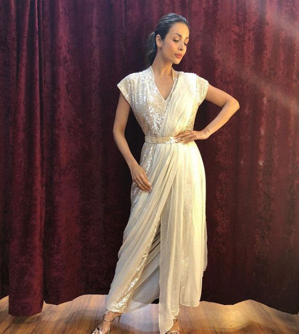 Manish Malhotra Latest Saree Trends 2019 Pre Draped Concept Gown