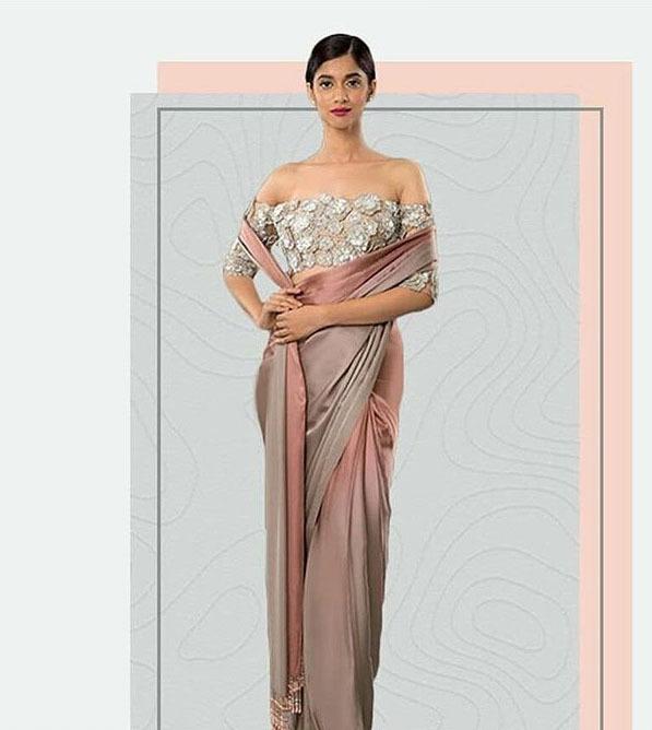 Manish Malhotra Latest Saree Trends 2019 Statement Blouse