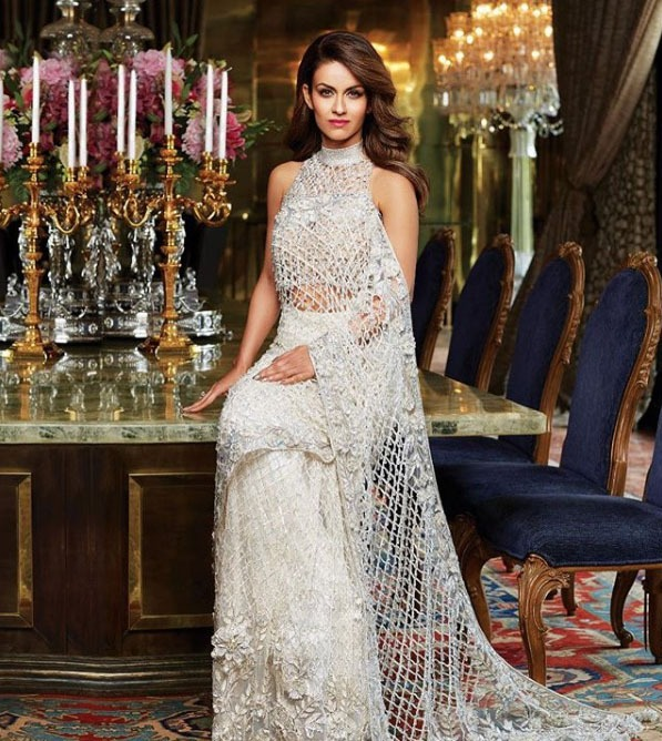 Manish Malhotra Top Saree Trends 2019 Jaali Sheer Applique