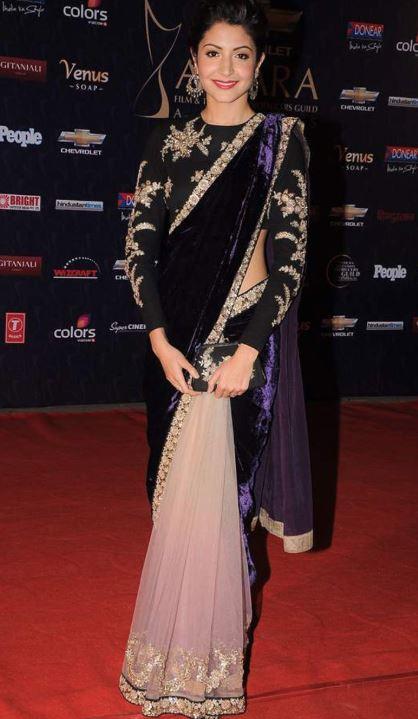 Sabyasachi Best Saree Trends 2019 Velvet Anushka Sharma