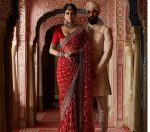 Sabyasachi Latest Designer Sarees 2019 Diamond Pattern