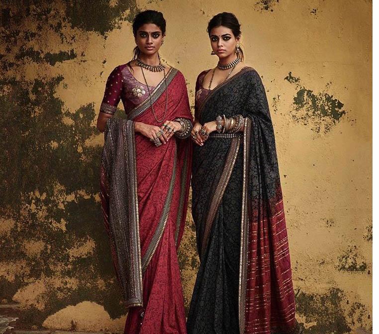 Sabyasachi Top Saree Trends 2019 Thin Border Designer Sari