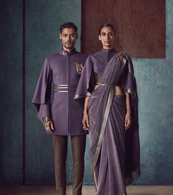 Shantanu Nikhil Latest Saree Blouse Trends 2019 High Neck