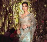 Shyamal Bhumika Top Saree Designs 2019 Embellished Net
