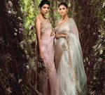 Shyamal Bhumika Top Saree Trends 2019 Net Applique Pastels
