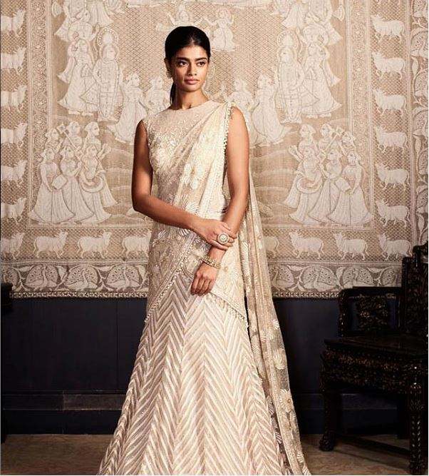 Tarun Tahiliani Latest Saree Trends 2019 Pre Draped Concept