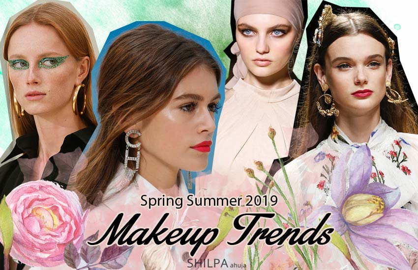 Top-Spring 2019 Beauty Trends-Trending-runway-makeup-looks-SS19-