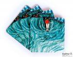 beautiful blue tea coasters online set girly audrey o comics
