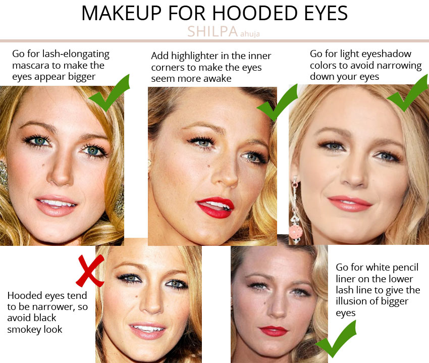 best makeup-for-hooded-eyes-tips advice-eye-shape