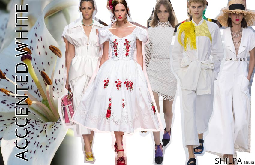 best spring summer 2019 color forecast White-with-Accents