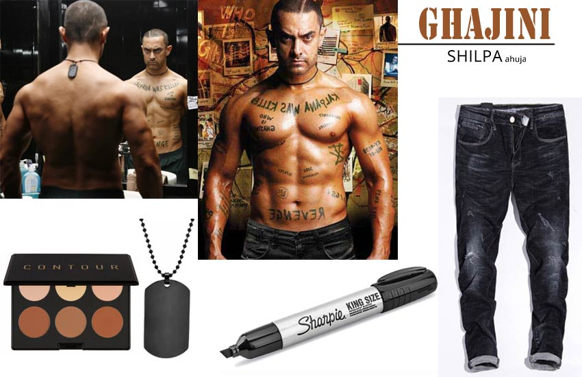 bollywood theme dress ideas male ghajini