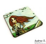 buy tea coasters online art cartoon audrey o comics