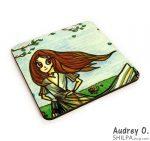 buy tea coasters online art cartoon audrey o comics