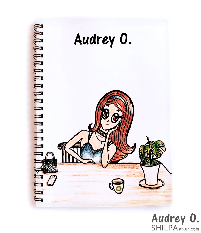 cute-notebooks-for-girls-cartoon-audrey-o-comics-buy-online-india